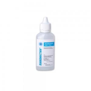 Антисептик Линкомистин 0,1% (аналог Мирамистина) Farmlink на спиртовой основе 50 мл с капельным дозатором