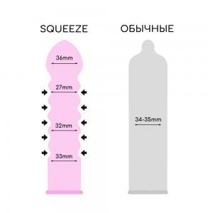 Презервативы Sagami Squeeze 5шт.