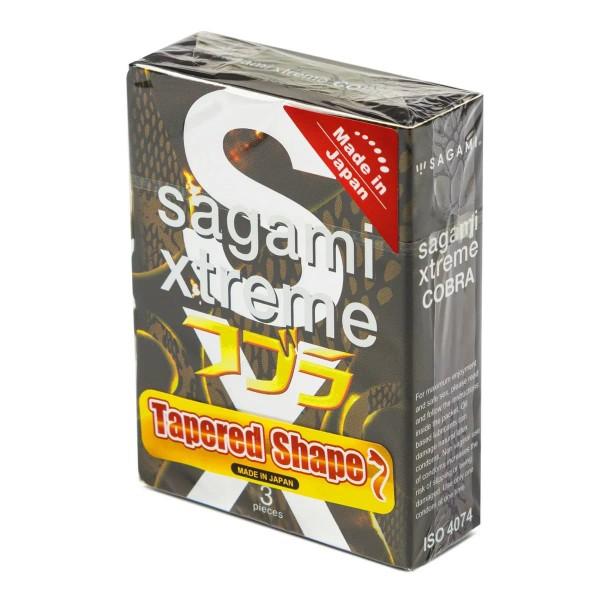 Презервативы Sagami Xtreme Tapered Shape 3шт.